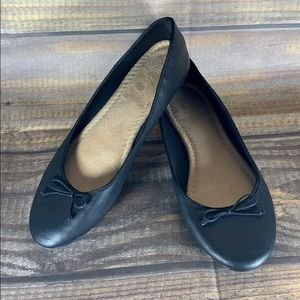 OLD NAVY | black bow flats